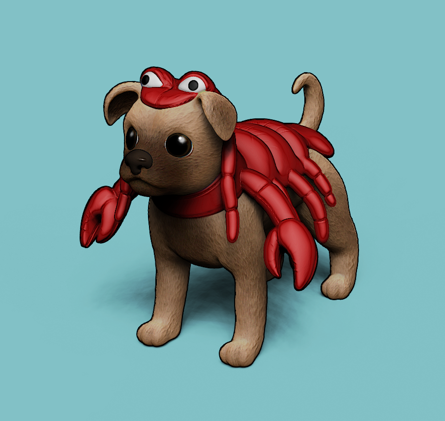 Walter the Lobster Dog